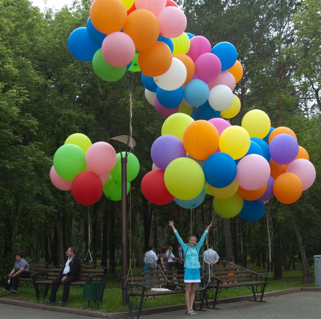 воздушные шары в калининграде - 39 шаров-1