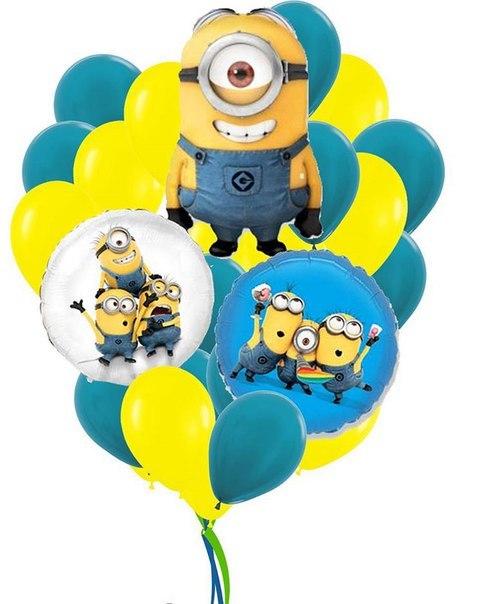 воздушные гелиевые шары в калининграде весело-задорно -1