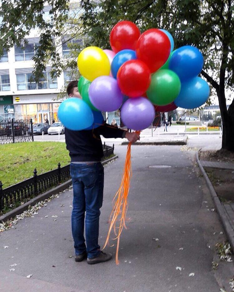 воздушные гелиевые шары в калининграде весело-задорно -23