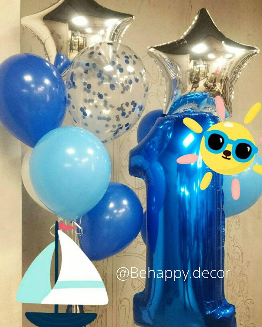 воздушные шары и декор в калининграде behappy decor1