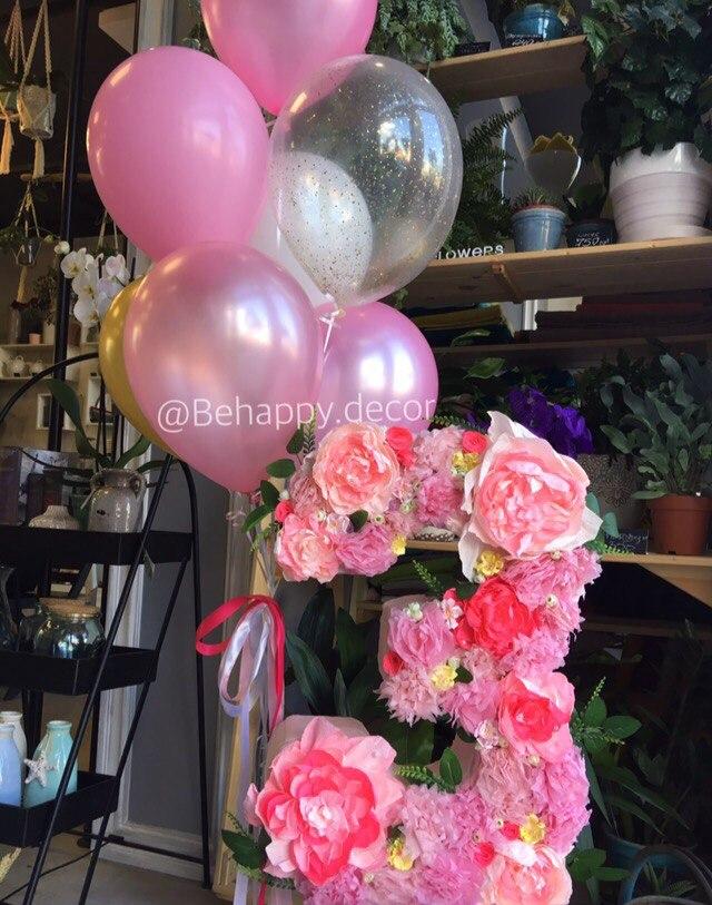 воздушные шары и декор в калининграде behappy decor3