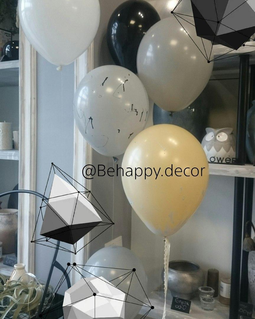 воздушные шары и декор в калининграде behappy decor4