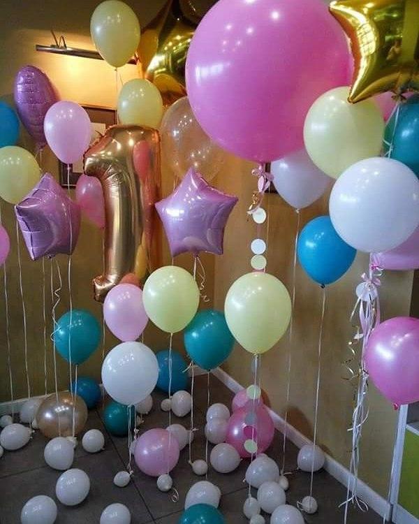 воздушные шары и декор в калининграде behappy decor48