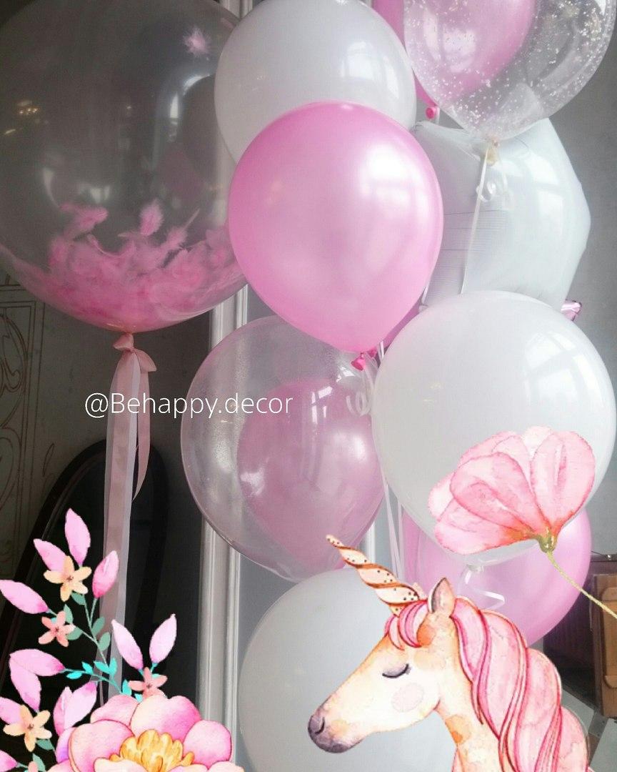 воздушные шары и декор в калининграде behappy decor5