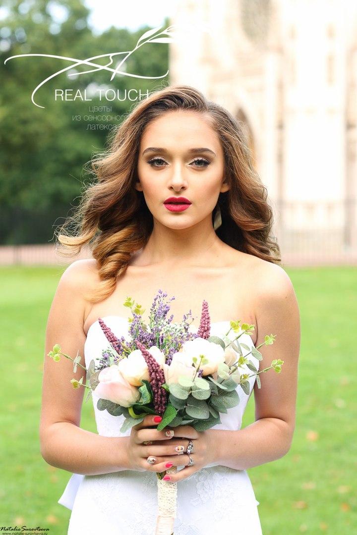 цветы из сенсорного латекса real touch в Калининграде10