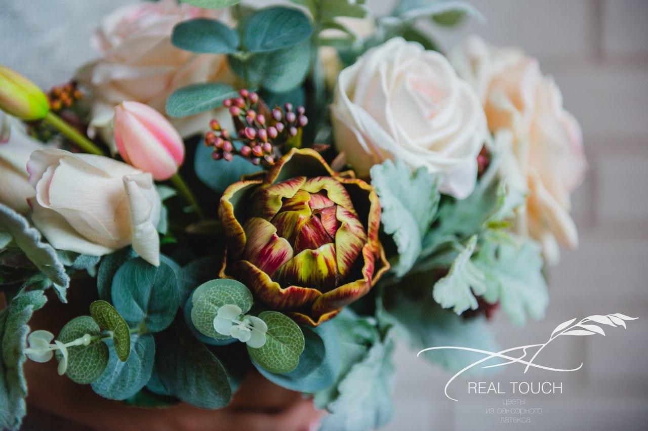 цветы из сенсорного латекса real touch в Калининграде14
