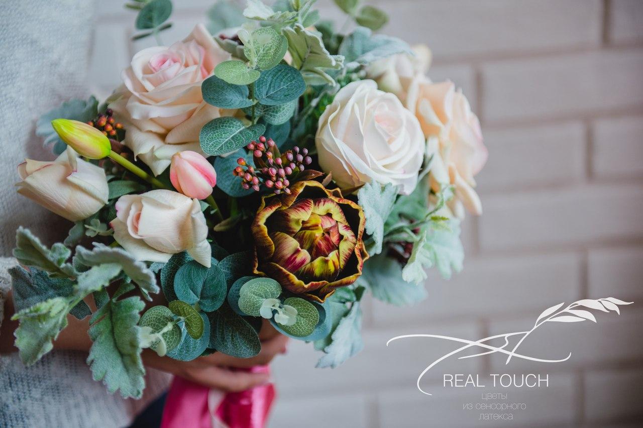 цветы из сенсорного латекса real touch в Калининграде19