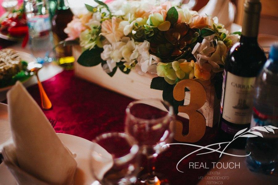 цветы из сенсорного латекса real touch в Калининграде21
