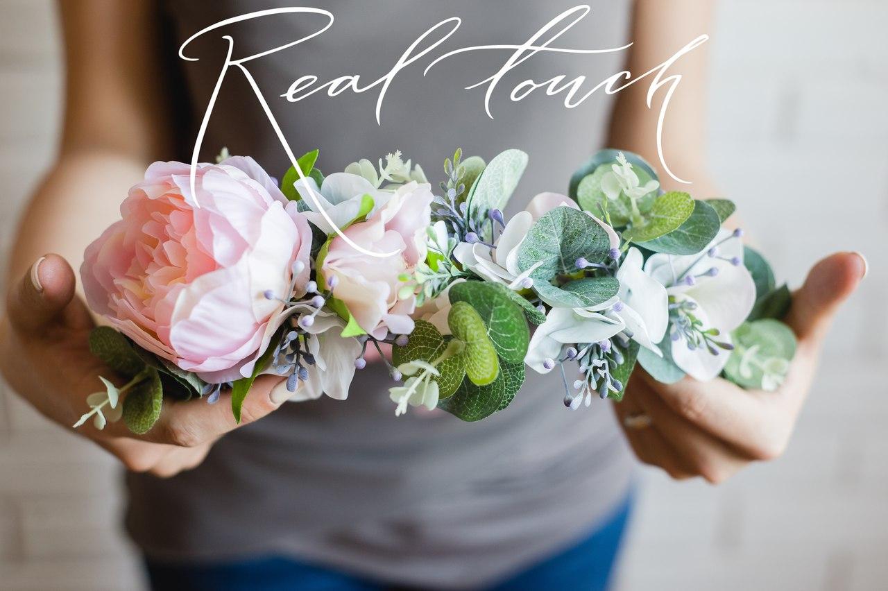цветы из сенсорного латекса real touch в Калининграде22
