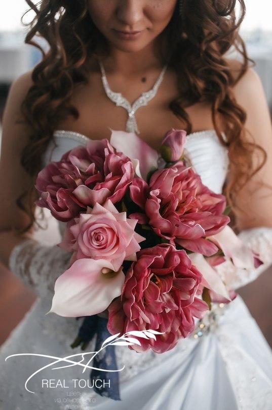 цветы из сенсорного латекса real touch в Калининграде24
