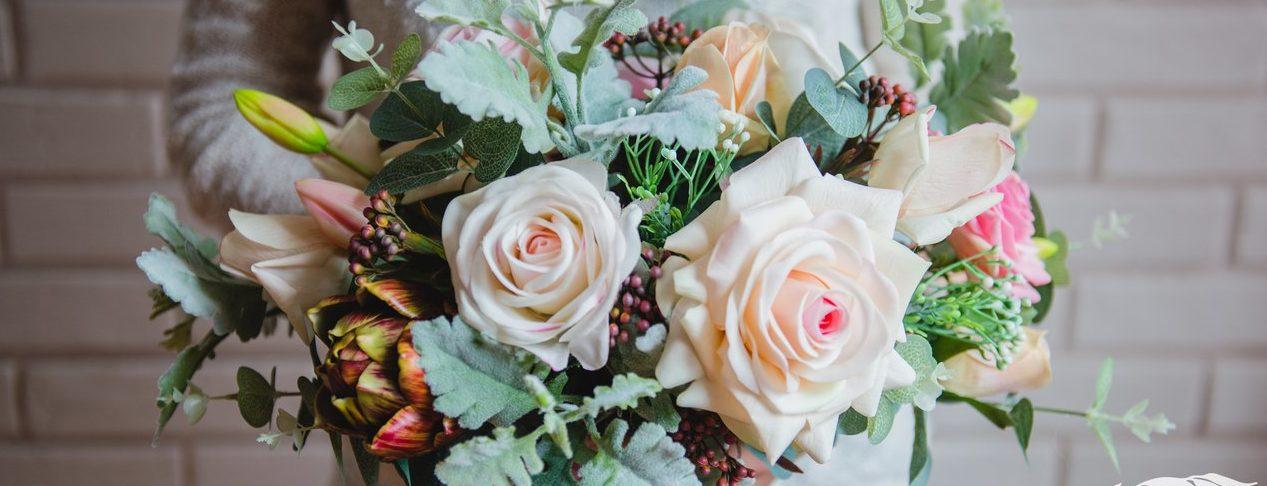 цветы из сенсорного латекса real touch в Калининграде27