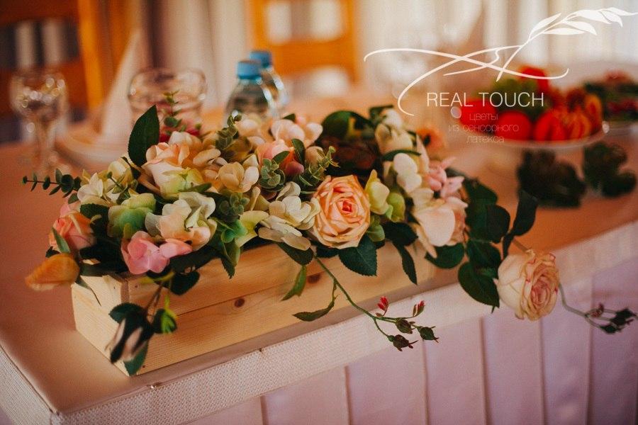 цветы из сенсорного латекса real touch в Калининграде33