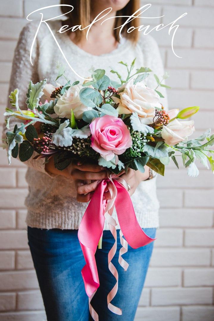 цветы из сенсорного латекса real touch в Калининграде8