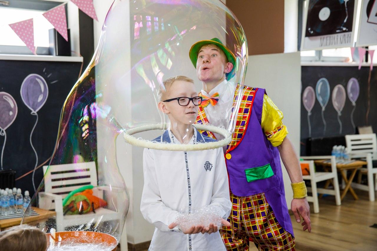 шоу мыльных пузырей в калининграде - шоу мыльника - 1