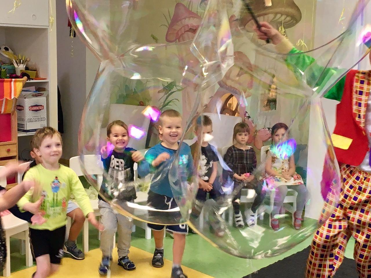 шоу мыльных пузырей в калининграде - шоу мыльника - 10