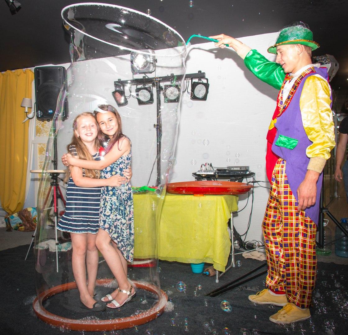 шоу мыльных пузырей в калининграде - шоу мыльника - 12