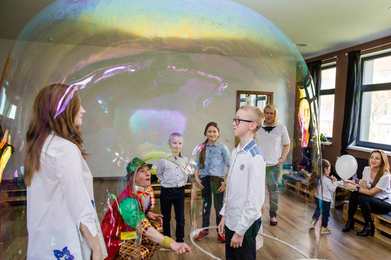 шоу мыльных пузырей в калининграде - шоу мыльника - 13