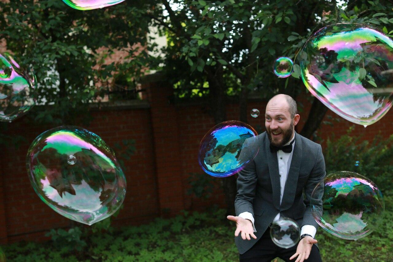 шоу мыльных пузырей в калининграде - шоу мыльника - 17