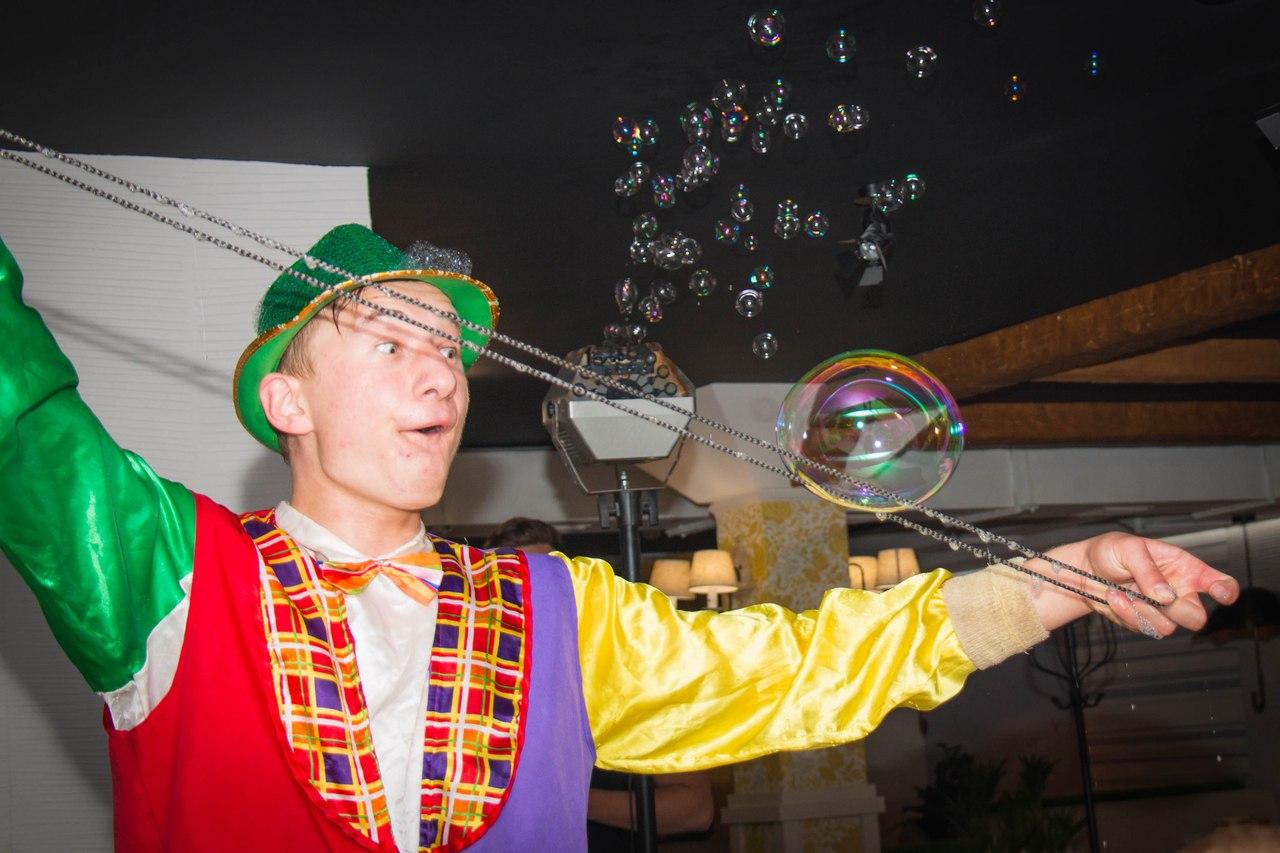 шоу мыльных пузырей в калининграде - шоу мыльника - 20
