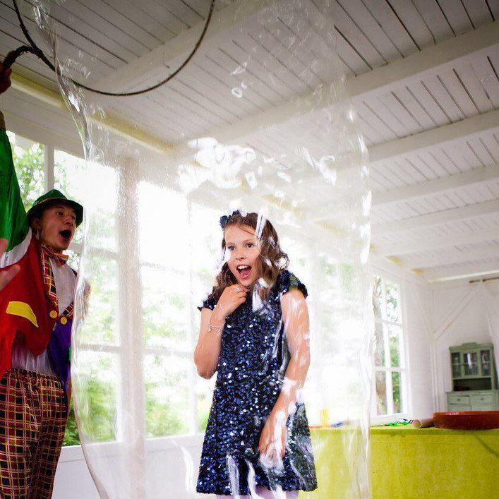 шоу мыльных пузырей в калининграде - шоу мыльника - 22