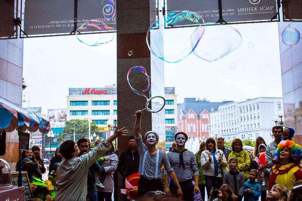 шоу мыльных пузырей в калининграде - шоу мыльника - 29