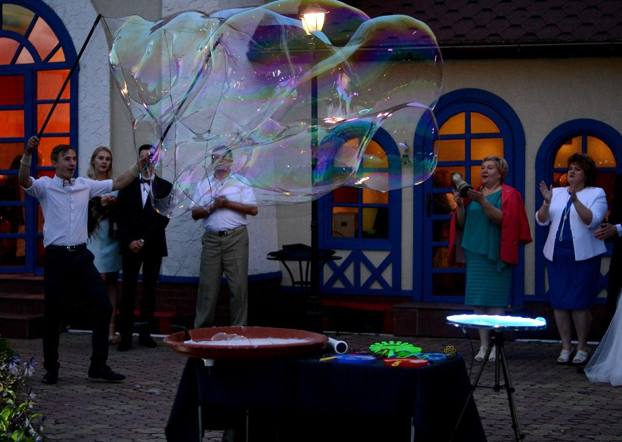 шоу мыльных пузырей в калининграде - шоу мыльника - 3