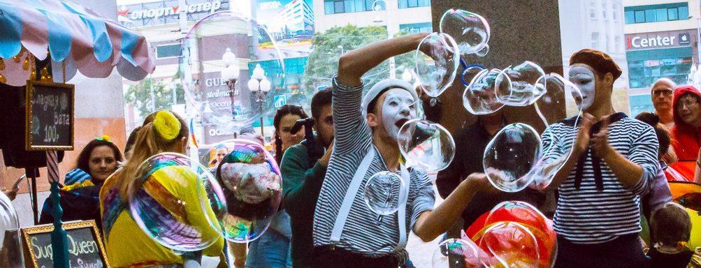 шоу мыльных пузырей в калининграде - шоу мыльника - 30