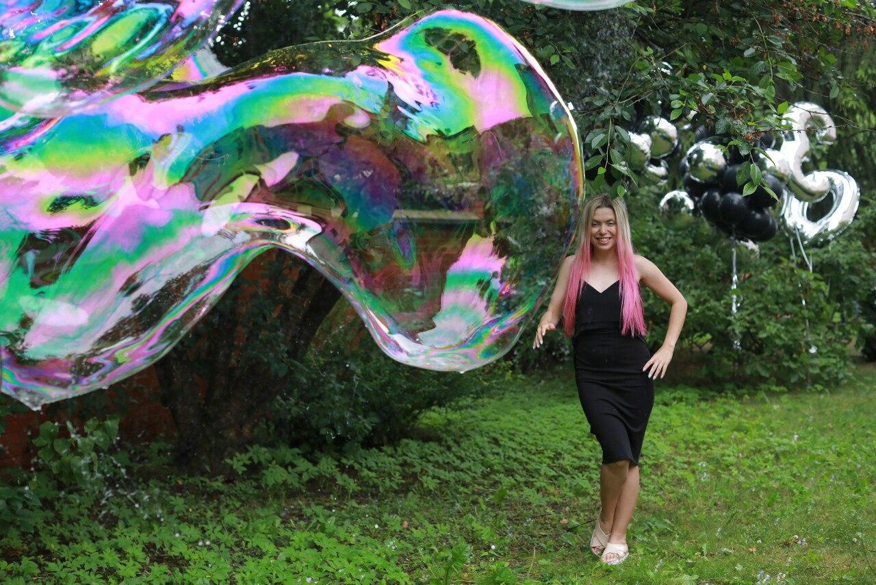 шоу мыльных пузырей в калининграде - шоу мыльника - 5