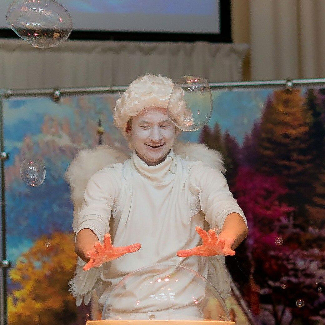 шоу мыльных пузырей в калининграде - шоу мыльника - 8