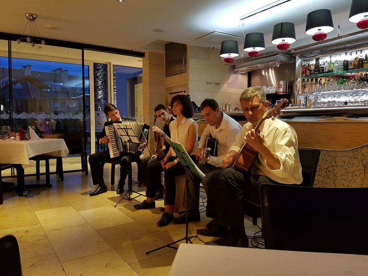 джаз квинтет Nuages в Калининграде -10