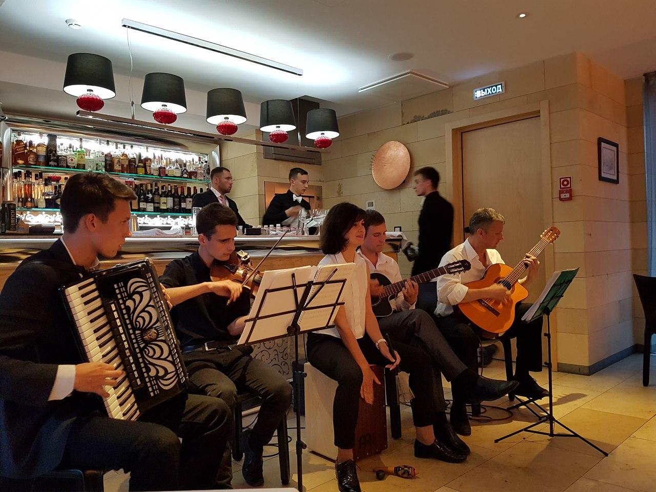 джаз квинтет Nuages в Калининграде -19