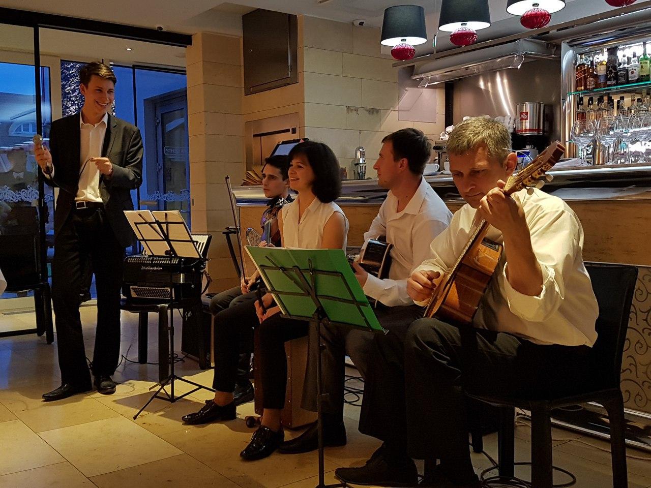 джаз квинтет Nuages в Калининграде -6