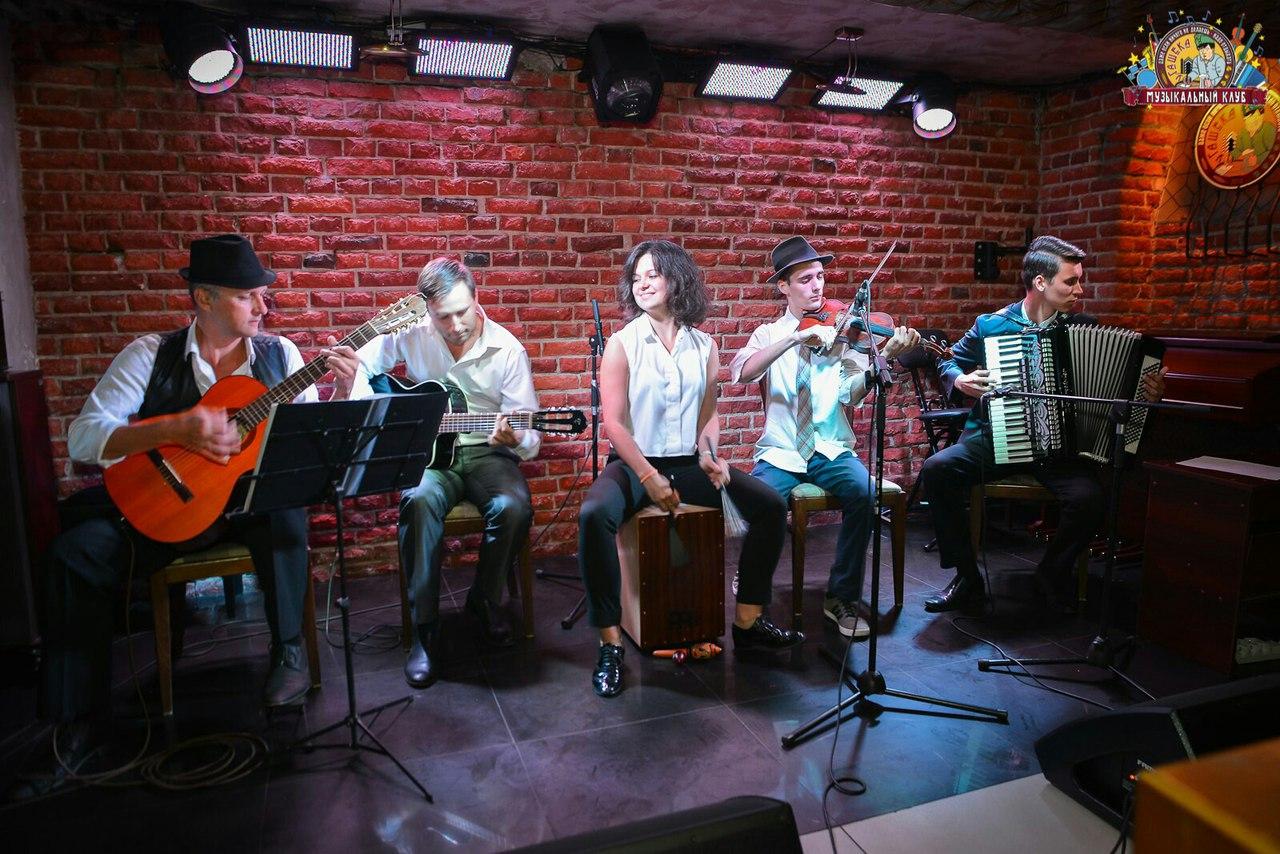 джаз квинтет Nuages в Калининграде -9
