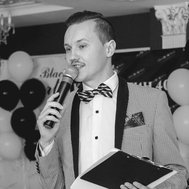 Илья Дыркач ведущий в Калининграде3