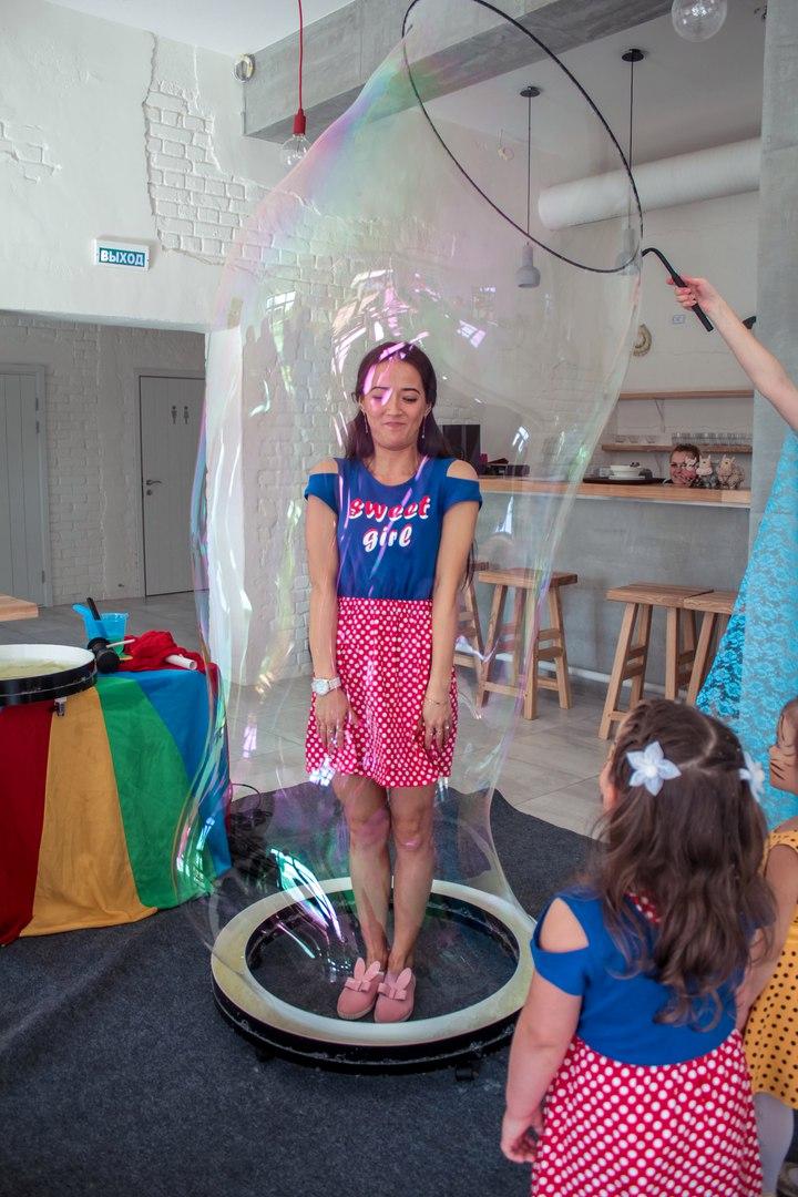 Шоу пузырей Ксении Ворошиловой в Калининграде41