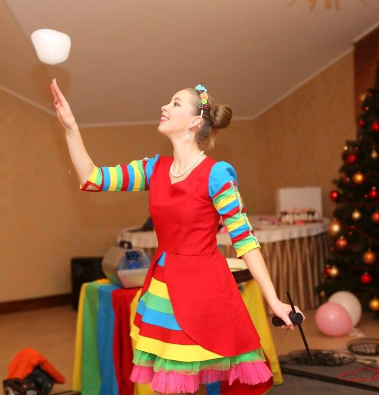 Шоу пузырей Ксении Ворошиловой в Калининграде42