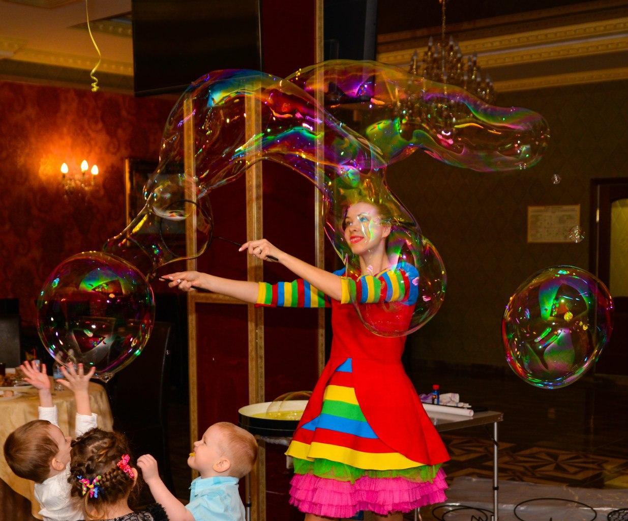 Шоу пузырей Ксении Ворошиловой в Калининграде43