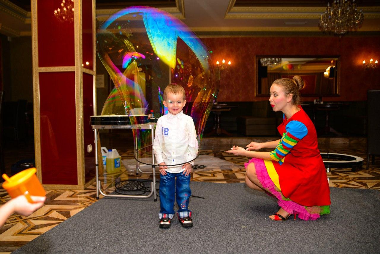 Шоу пузырей Ксении Ворошиловой в Калининграде44