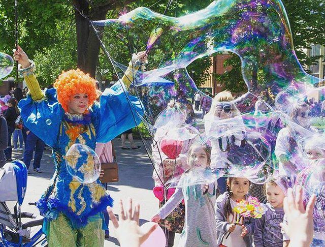 Шоу пузырей Ксении Ворошиловой в Калининграде45