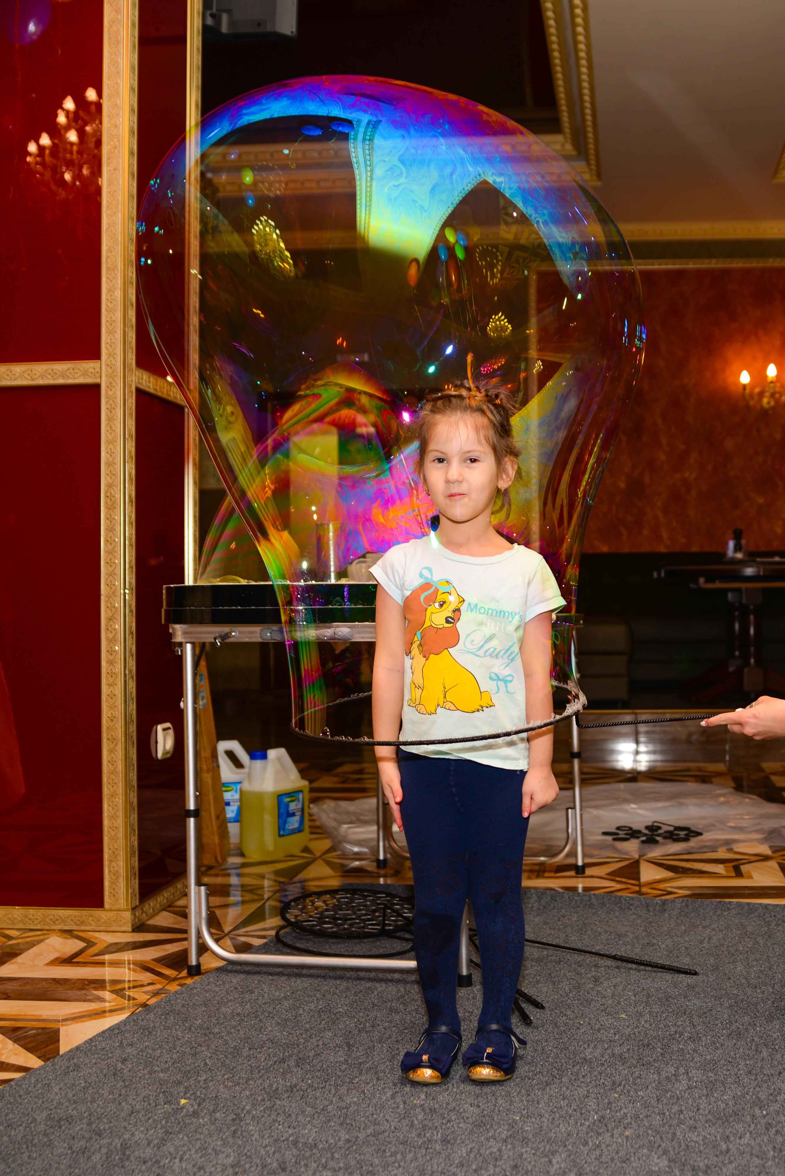 Шоу пузырей Ксении Ворошиловой в Калининграде46