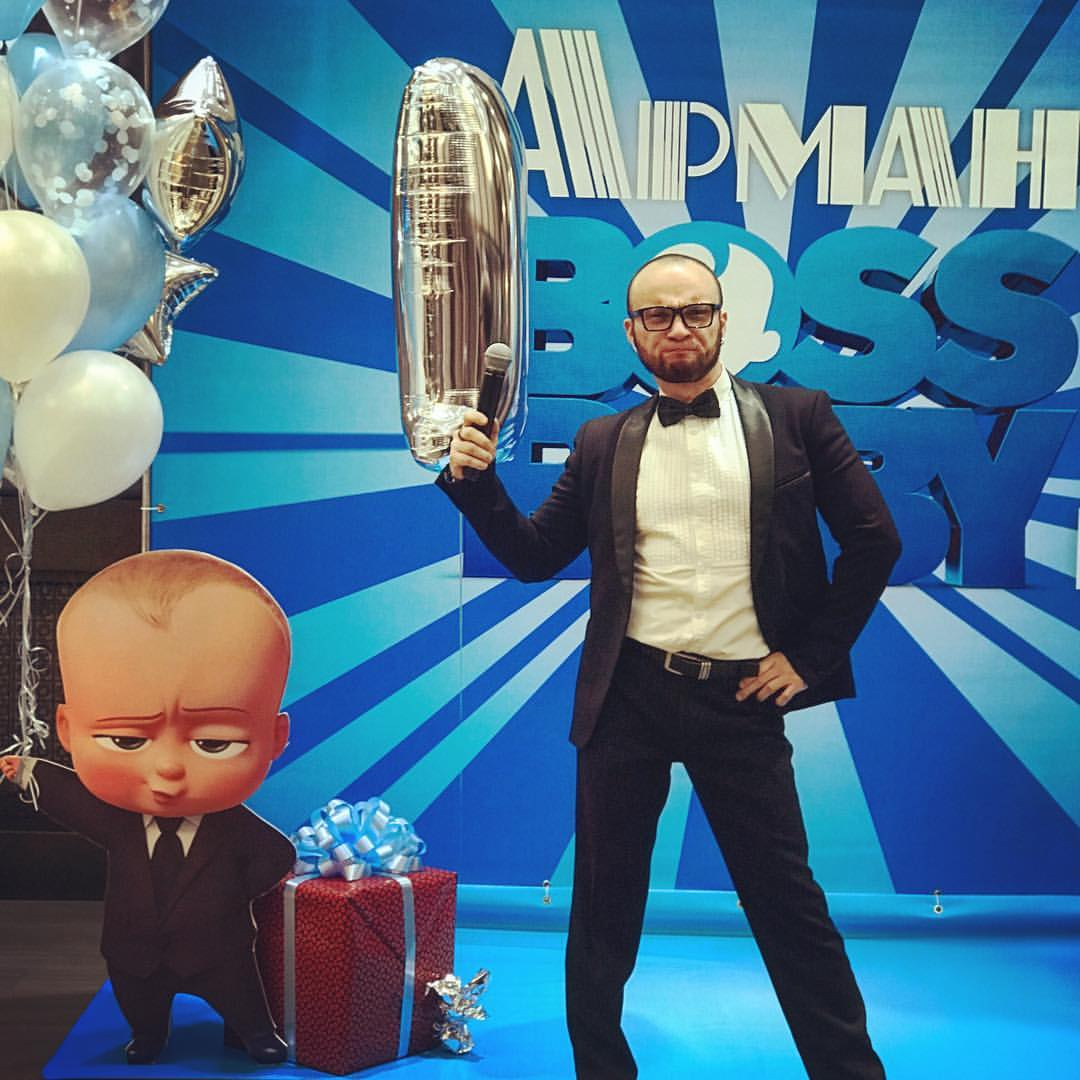 Андрей Миронов ведущий в Калининграде15