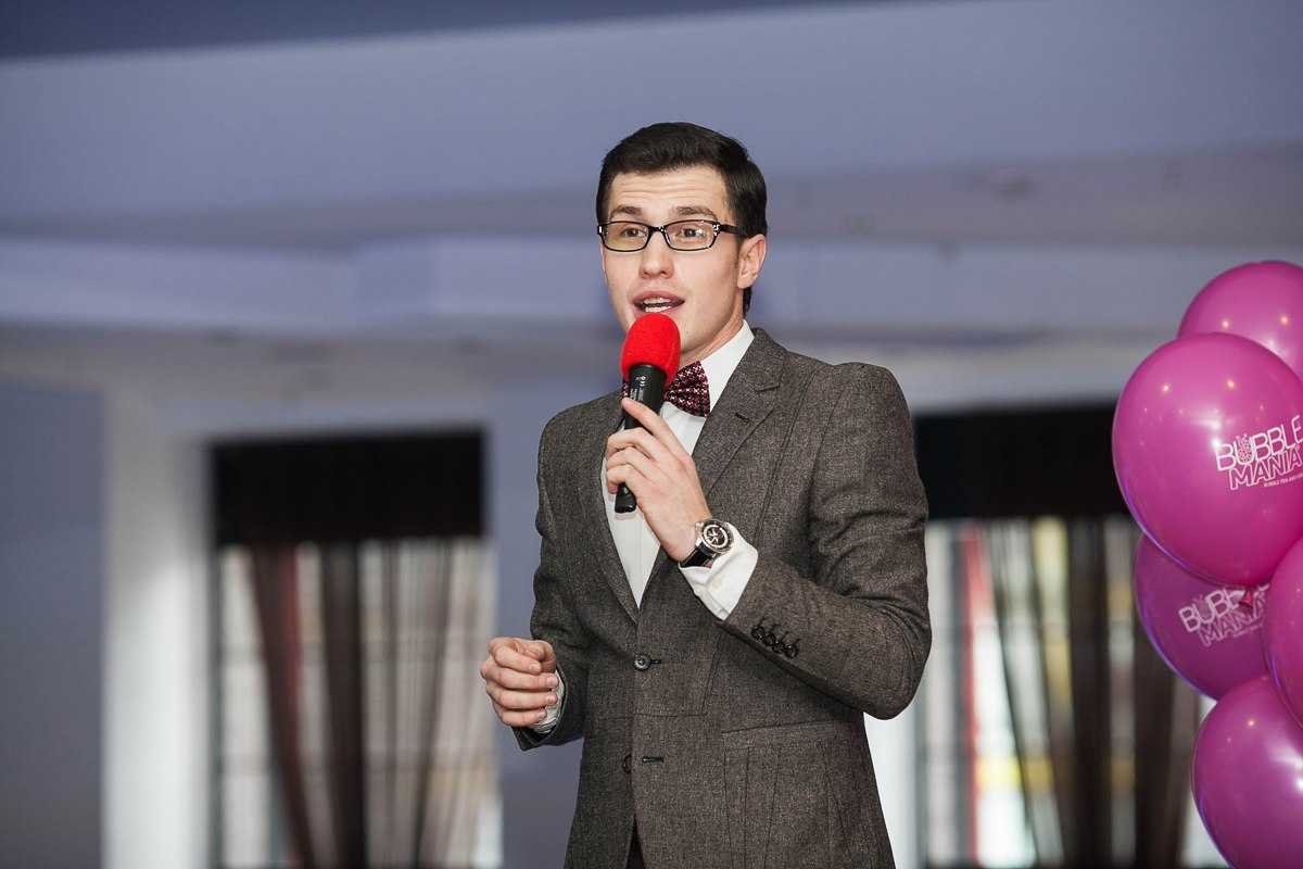 Владимир Корень ведущий в Калининграде25