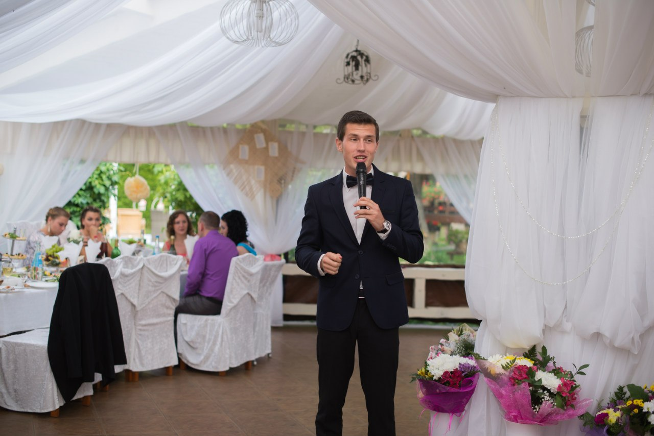 Владимир Корень ведущий в Калининграде26