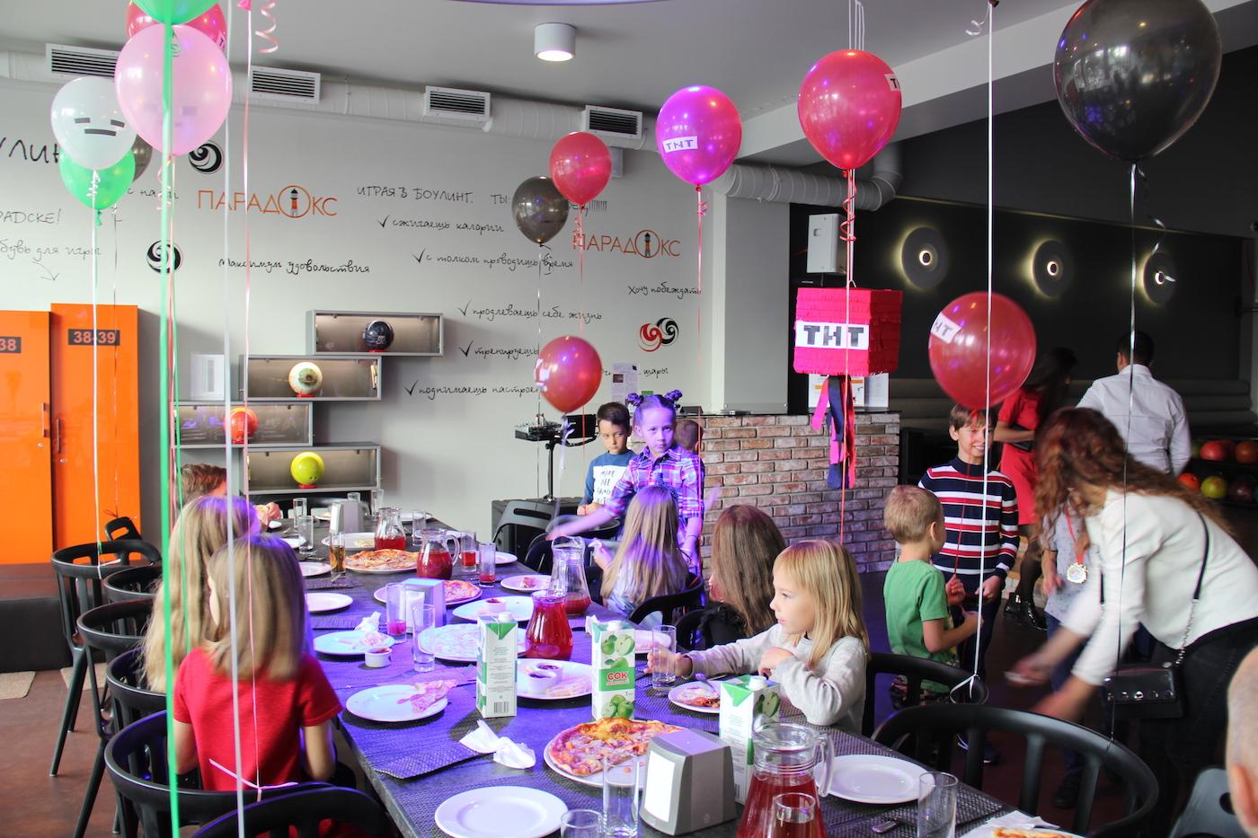 детские праздники в ПАРАDOX5