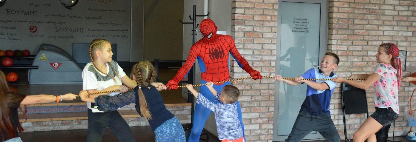 детские праздники в ПАРАDOX4