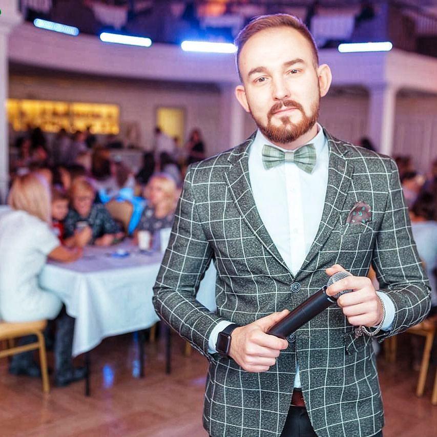 Вадим Воробьев ведущий в Калининграде6