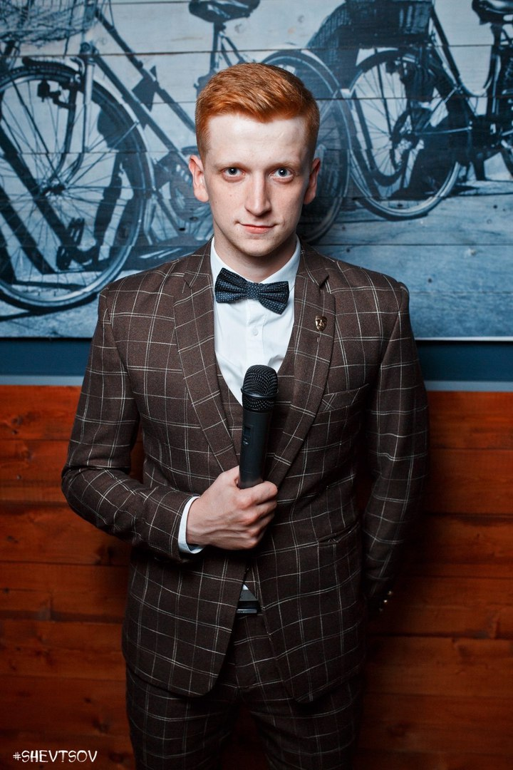 Иван Першиков ведущий в Калининграде3